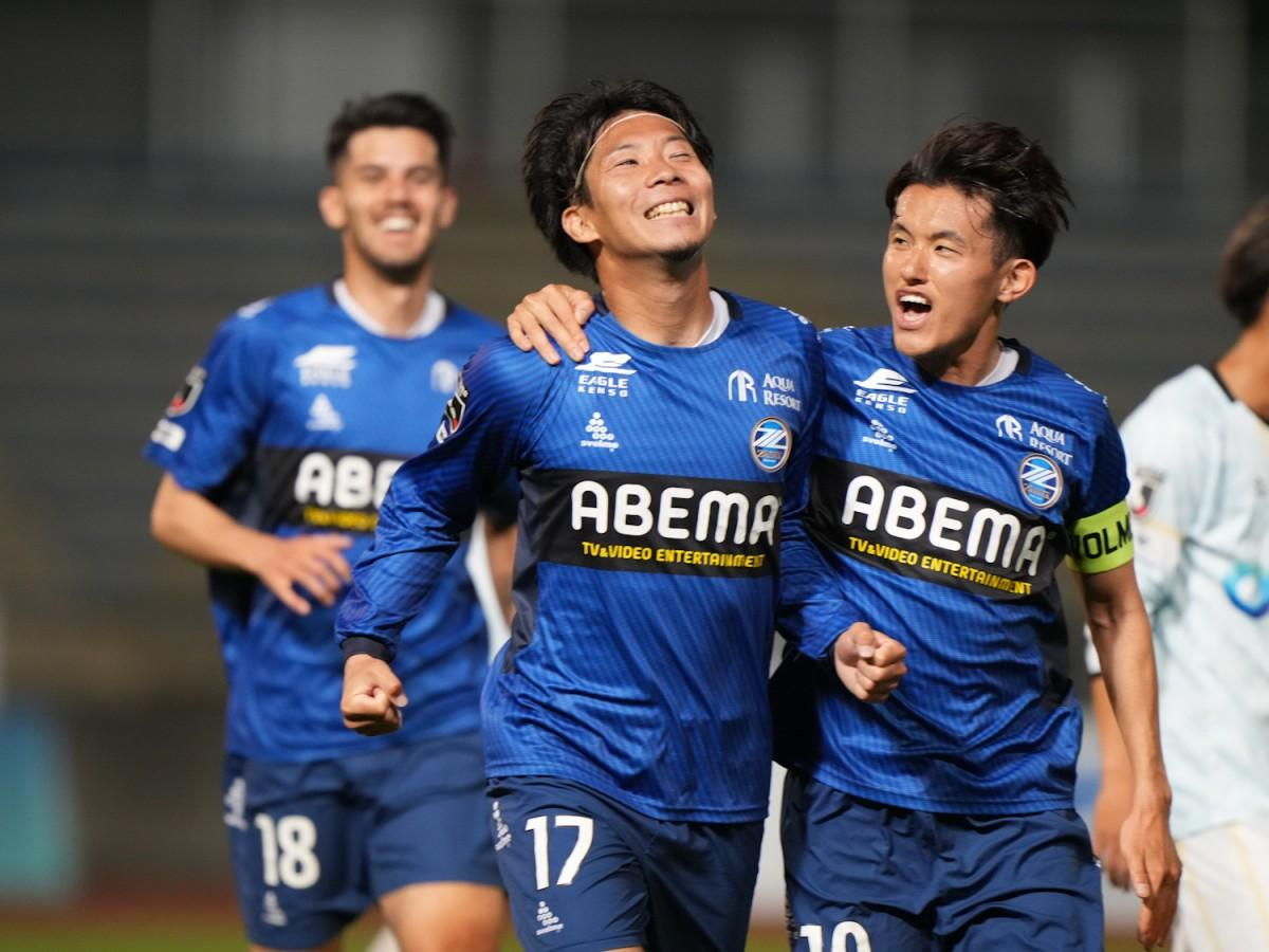 高橋祥平選手の移籍後初ゴールでゼルビアが先制 ©FC町田ゼルビア