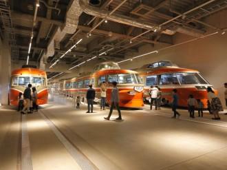 はやぶさ2×ロマンスカー ロマンスカーミュージアムで「JAXA巡回展示」初開催