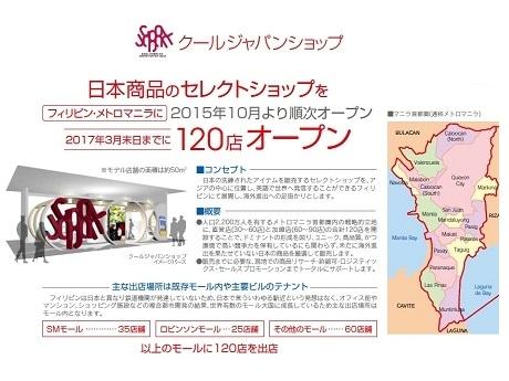 クールジャパンショップのポスター