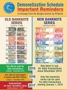 フィリピンで紙幣の切り替え 旧紙幣は2017年紙くずに