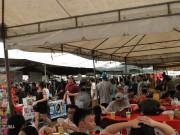 マニラのフリーマーケットじわり人気に オーガニック野菜など販売