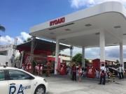 マニラに日系タクシー業者がガソリンスタンド開設