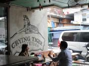 マカティの東南アジア屋台飯「クライングタイガー」2周年