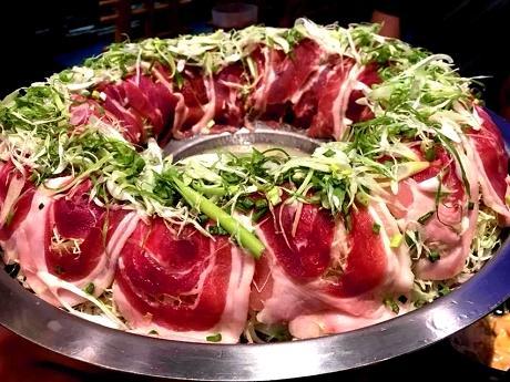 常夏で人気の肉炊き鍋