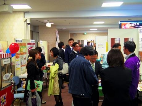 「松戸ビジネスショウ2013」会場の様子