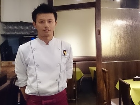 ドメーヌのオーナーシェフの岡野昌一さん