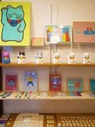 松戸在住のイラストレーター松岡マサタカさんが作品展 「猫」テーマに