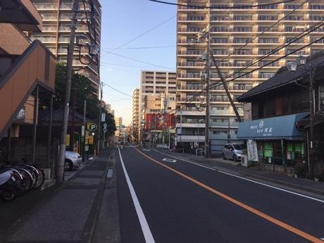 主な撮影場所となる旧水戸街道