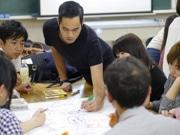 松戸でタイ人アーティストが滞在制作展 「地球温暖化」テーマに