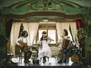 松戸駅構内でコンサート アイルランド音楽を演奏