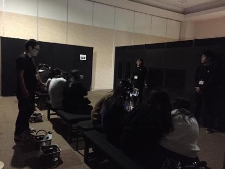 松戸伊勢丹でVRイベント 電車を舞台にお化け屋敷体験