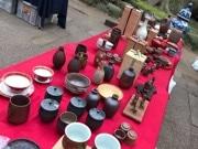 松戸・東漸寺でアンティーク市と手作り市 地元産野菜の販売や飲食店出店も