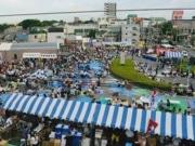 松戸矢切駅前でビール祭り 特設ステージでライブやミスコンも