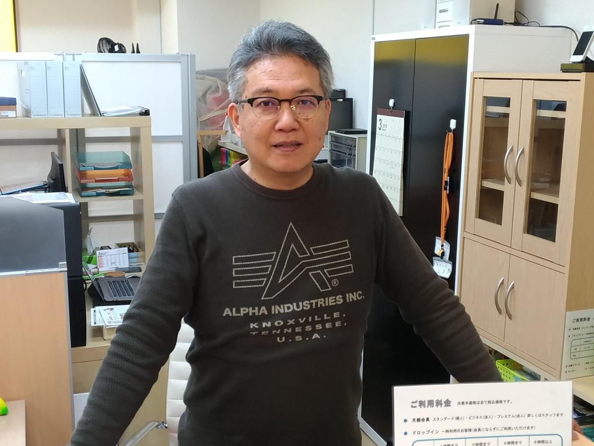 店主の森田浩之さん