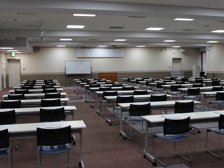会場の松戸商工会議所5階大会議室