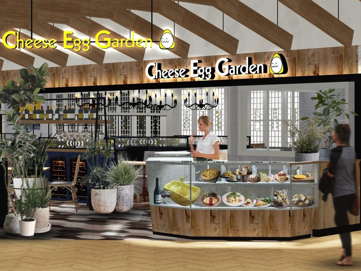 「チーズエッグガーデン」店舗イメージ