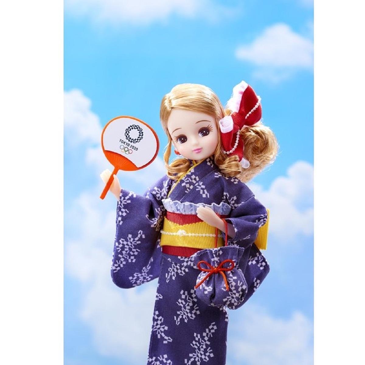 リカちゃん 浴衣(東京2020オリンピックエンブレム)