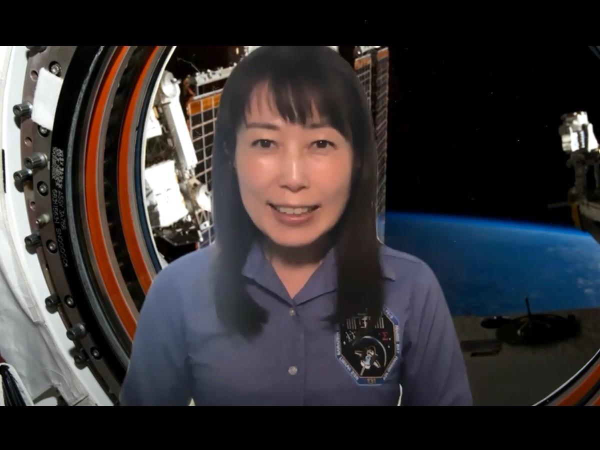 宇宙飛行士・山崎直子さんのメッセージ動画