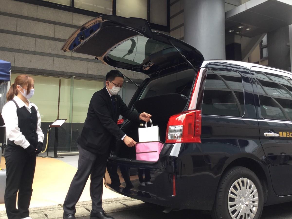 京成タクシー松戸西のデリバリー事業
