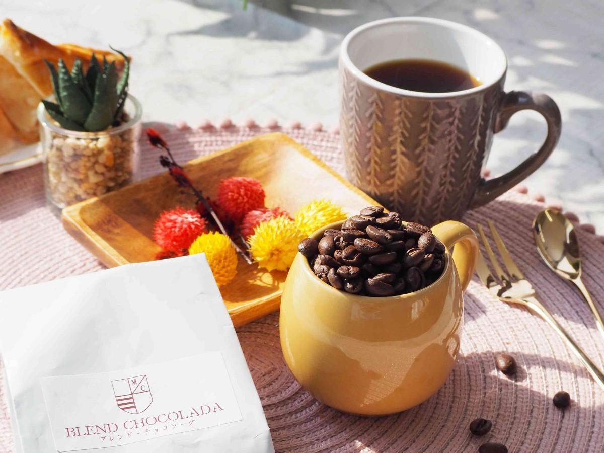 「ご近所マルシェJoolen」に参加するMOKICHI珈琲(モキチコーヒー、松戸市日暮1)のブレンド・チョコラーダ