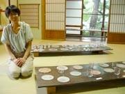 浅間温泉で若手ガラス作家が初個展-「生き物」モチーフの作品中心に