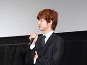 櫻井翔さん、松本で映画「神様のカルテ」舞台あいさつ-原作者・夏川さんも