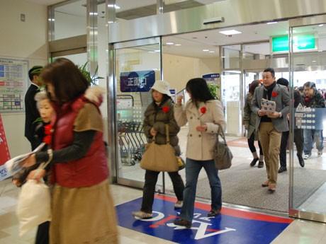 開店直後から多くの人が訪れた「アリオ松本」