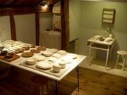 安曇野の作家親子が陶芸と木工作品展-松本のギャラリーカフェで