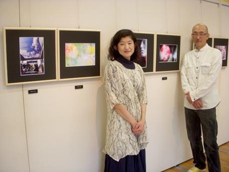 「心で捉えた松本市美術館をぜひ見に来て」(荒川さん、大平さん)