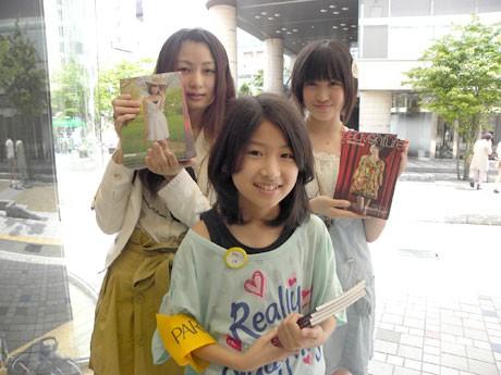「長野美少女図鑑Vol.6」配布イベントに参加したモデルたち