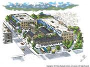 松本「カタクラ再開発」、建物活用を提案-市内の建築家が私案公開