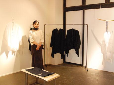 「喪服用や男性用の着物地を使うことも多い」と小川さん