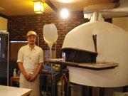 松本・筑摩に「ピッツェリア ダ アンダン」-地元素材生かし、まき窯で焼く
