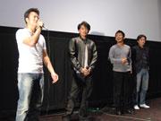 松本で映画「リュウセイ」先行上映-遠藤要さん、佐藤祐基さんら舞台あいさつ
