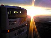 乗鞍岳「ご来光バス」、今夏も運行-標高2700メートルまでバスで登る