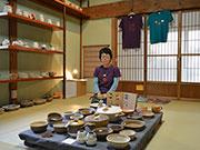 松本・浅間温泉で松浦唱子さん個展-土鍋や器とTシャツで「ひとり文化祭」