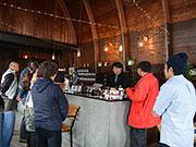 安曇野の自家焙煎コーヒー店でイベント-「酸味はおいしい」伝える