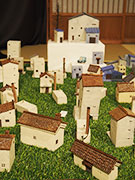 松本・浅間温泉で陶展「小さな建物と器を少々」-「マチナミ」創り出す
