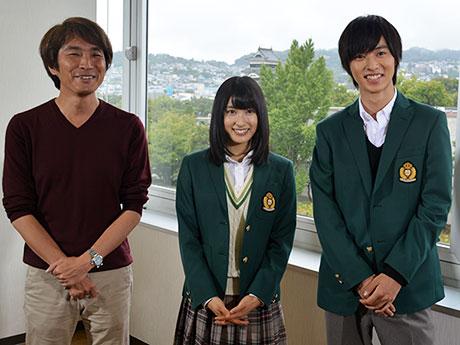 (左から)橋本監督、土屋さん、山崎さん