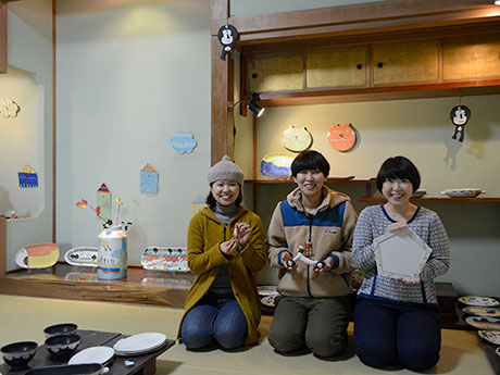(左から)うえのさん、岡さん、梅田さん
