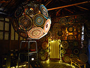 松本で空間演出家・小林響さんが体験型インスタレーション 池上邸の蔵で