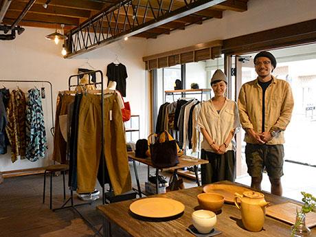松本・大橋通りにセレクトショップ「C.COUNTLY」 松本気に入り、夫婦で開業