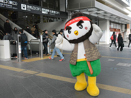 「3月9日は松本山賊焼の日」 駅前でPR、飲食店・スーパーなどでイベントも