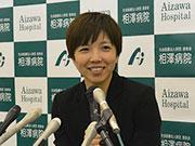 スピードスケート・小平奈緒選手が松本で報告会 「平昌オリンピックも笑顔で」