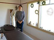 松本・桐に女性専用「三日月整体院」 子連れでも安心して通える場所に