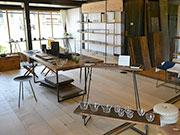 松本・中山で「什器備品受注会」 バリエーション豊かな鍛鉄、オーダー対応も