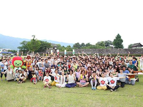 6月25日に松代で行われたイベントの様子