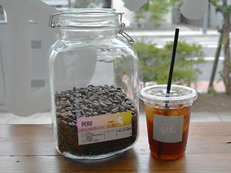 「High-Five(ハイファイブ)」で提供する「空中都市『マチュピチュ』のコーヒー」
