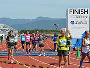 「第1回松本マラソン」開催 沿道から声援、松本平を駆け抜ける