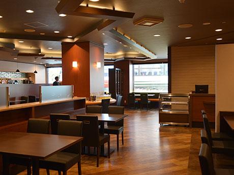 改装を行った1階のレストラン「NAGOMIZA(なごみざ)」